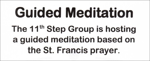 Guided Meditation - 11th Step