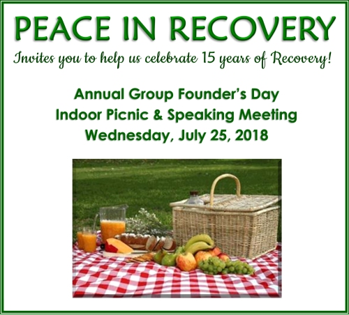 Peace in Recovery 7_25_18Banner