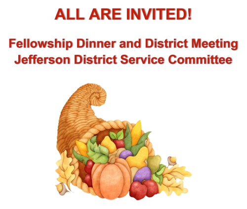 Microsoft Word - District Fellowship Dinner.docx